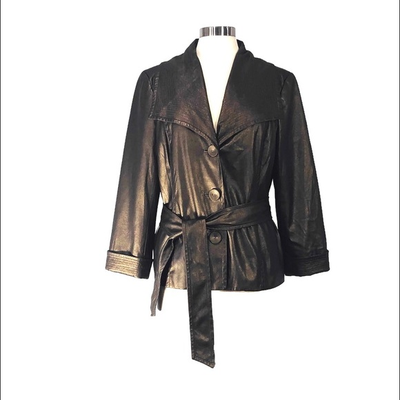 Sharon Young Jackets & Blazers - Sharon Young Bronze Metallic Lightweight Blazer!